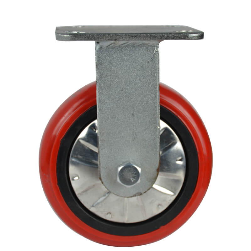 Car dolly caster wheels industrial racking